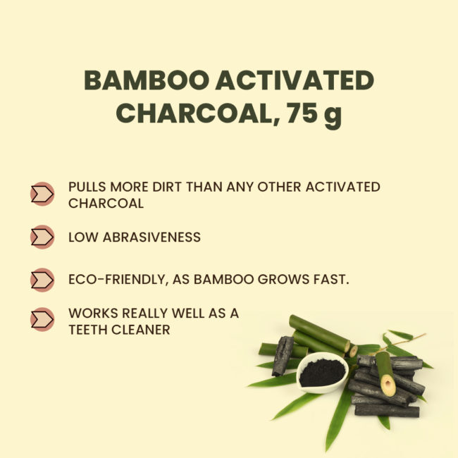 benefits of bamboo activated charcoal