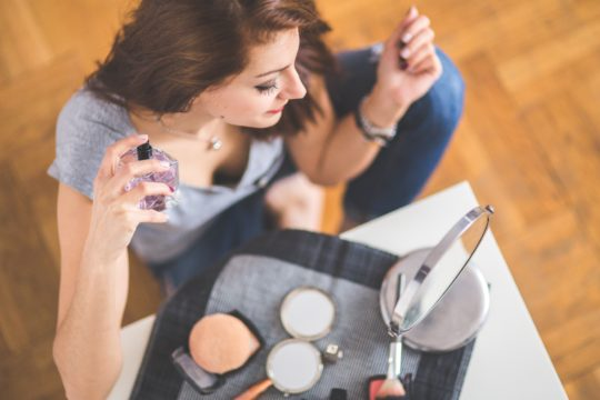 beauty or cosmetics products