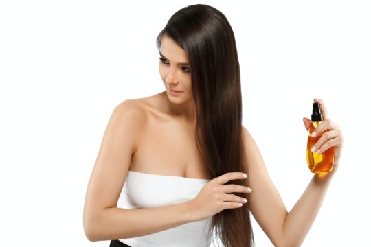 hair oil cosmetic beauty haircare Product. female oil skincare