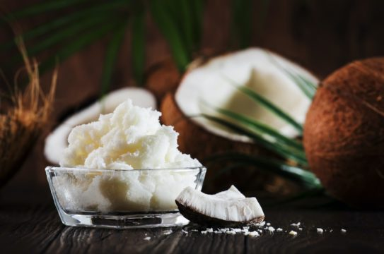 Coconut butter or coconut oil