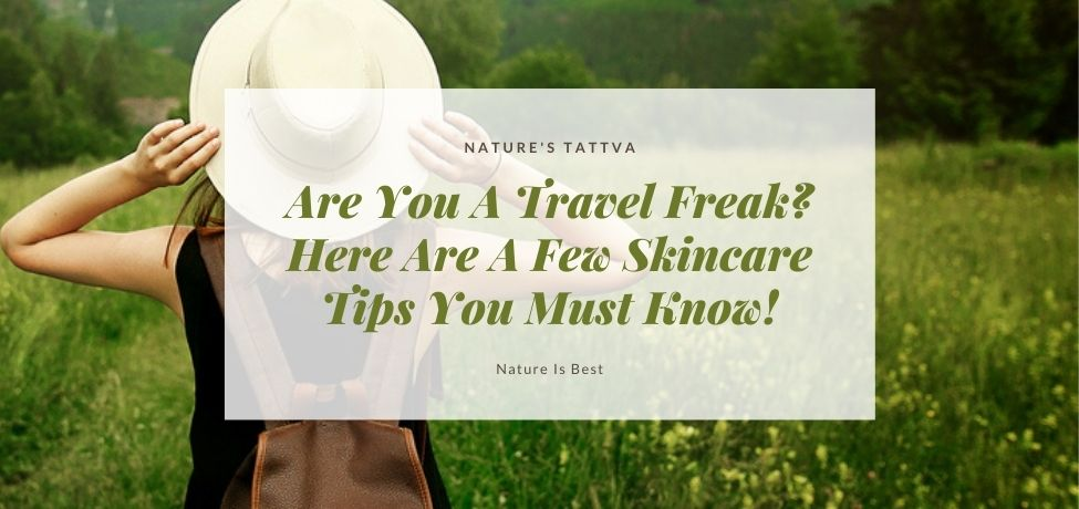 Travelling skin care kit or gift box