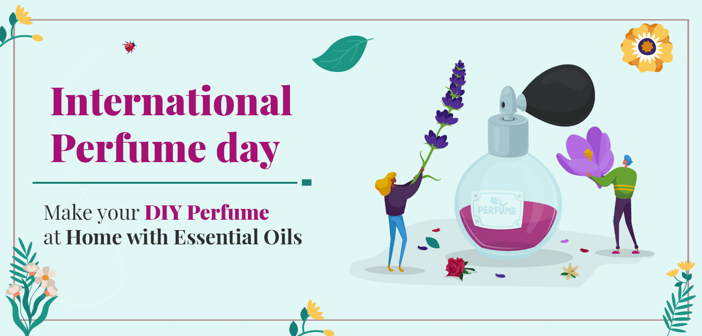 Make your own DIY Perfume at Home