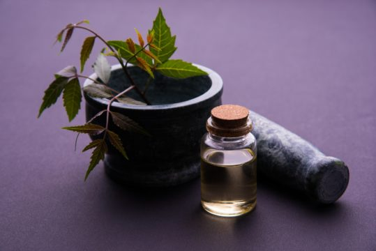 Neem Oil to Cures skin inflammation