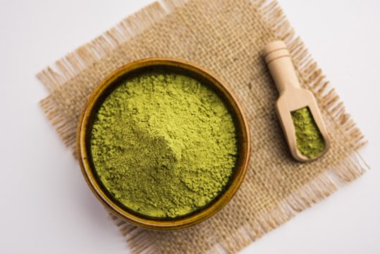 herbal and natural products henna powder