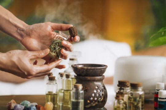Essential Oil for personal well-being